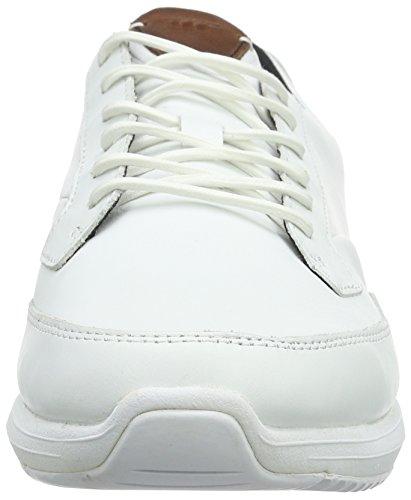 Boxfresh Rily Sh Lea, Baskets Basses Homme Blanc - Blanc