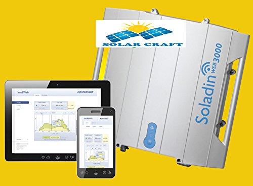 Convertidor Energie 3000Web inverseurrenouvelable Solar SunMaster–es3.0tl