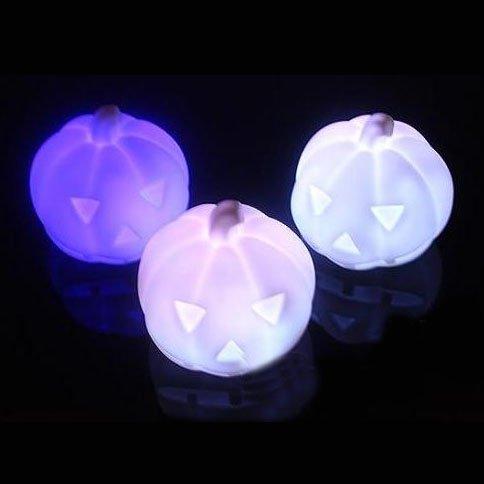 Geschenk-Idee! MagicLightz LED Kürbis-förmigen Farbwechsel Nachtlicht, LED-Kerze-Licht, Preis / (Einfache Ideen Deko Halloween)