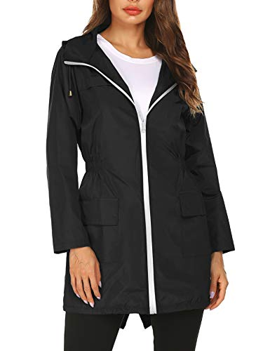 Doreyi Women rain Jacket Outerwe...