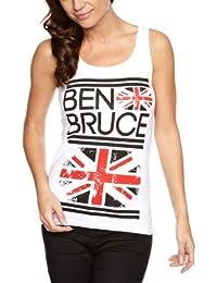 Plastic Head Damen Hemd Ben Bruce (Asking Alexandria) Flag TV
