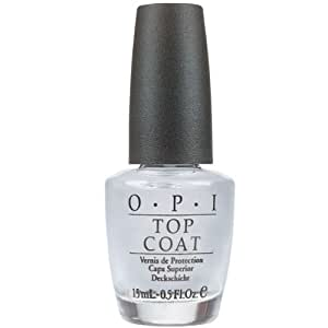 OPI Clear Top Coat Nail Varnish 15ml