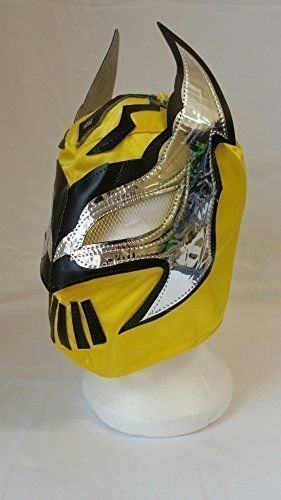 YELLOW-Lucha-Dragons-SIN-CARA-Childrens-Wrestling-Masks-by-Guest-Wrestling