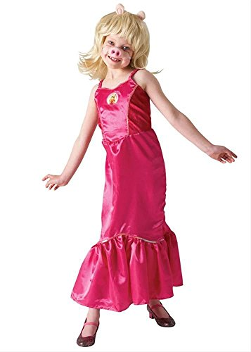 Muppet Show Miss Piggy Kostüm für Kinder Fasching Karneval Verkleidung Large Large