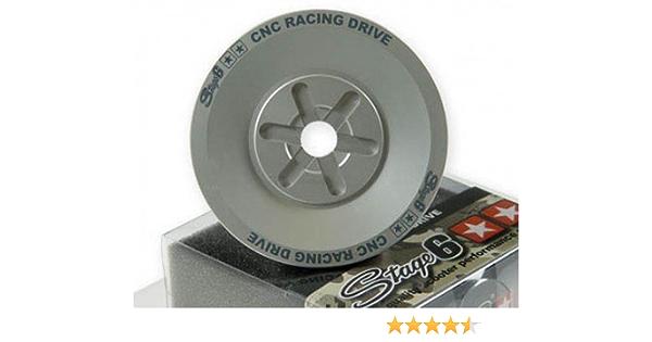 Typ:5BR bis Bj. 1999 Riemenscheibe STAGE6 CNC-Drive-Face f/ür YAMAHA Aerox 50