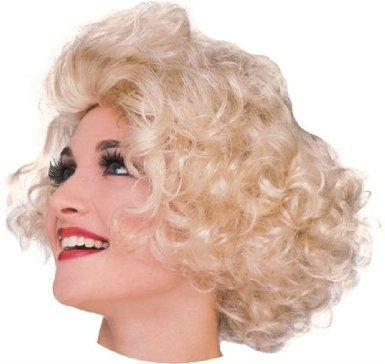 Hollywood actress wig blonde wig blonde Marilyn Monroe style for women (japan import)