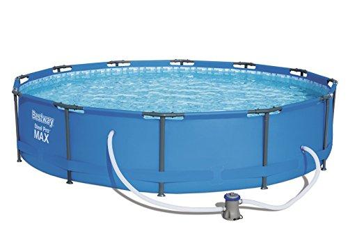 Bestway Steel Pro MAX Pool Set 366x76cm Stahlrahmenpool mit Filterpumpe