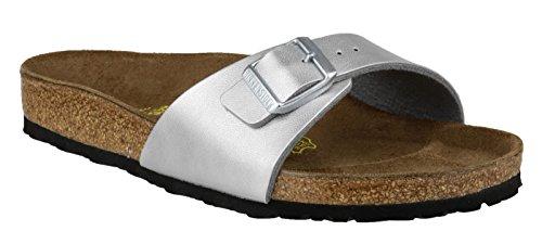 Birkenstock Midrid plage Moca Sandal silver