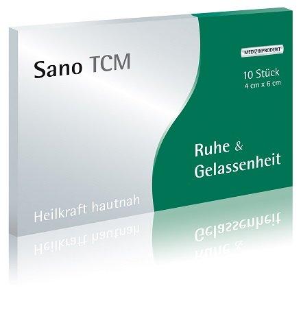 """Sano TCM \""""Ruhe & Gelassenheit\"""" Akupunktur-Pflaster, wirken analog der klassischen TCM"""