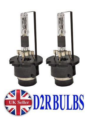 D2R HID Xenon Leuchtmittel 2Glühbirnen Ersatz für 35W Lampe Licht Scheinwerfer UK 8000K Blau