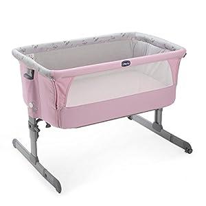 Chicco Next2Me - Cuna de colecho con anclaje a cama y 6 alturas, color rosa