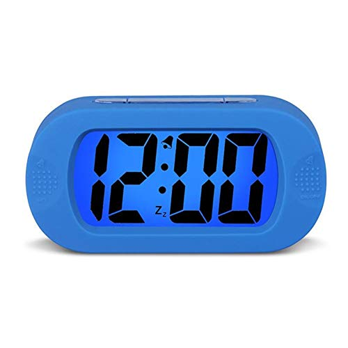 Alarm Handheld Radio (Tik Wecker - Einfach einzustellen, großer digitaler LCD-Reisewecker mit Snooze Good Night Light, Ascending Sound Alarm und Handheld-Größe, Kinder)