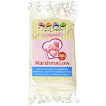 FunCakes Pasta di Zucchero Bianco Gusto Marshmallow, 6 x 250g