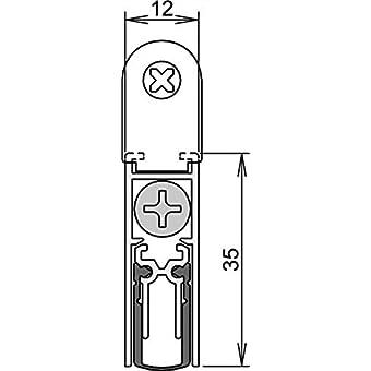 Doble proyecto guardia tiro excluder aislante fr/ío calor As Seen On T.V