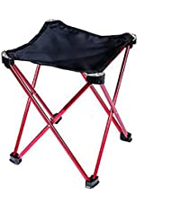 Qian Équipement extérieur Siège de file d'attente Four Corners Portable Camping Leisure Fishing Bench Folding Chair