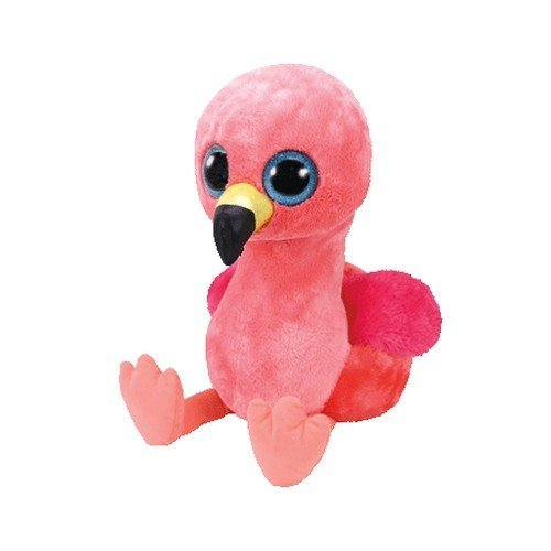 TY - Beanie Boo's Gilda, flamenco, color rosa, 23 cm (United Labels Ibérica 37262TY)