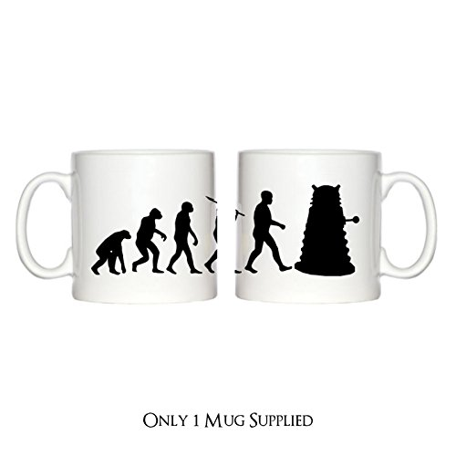 Espresso-Tasse, Design: Evolution eines Cyborg-Mutanten, 177 ml - Who Dr Mutanten