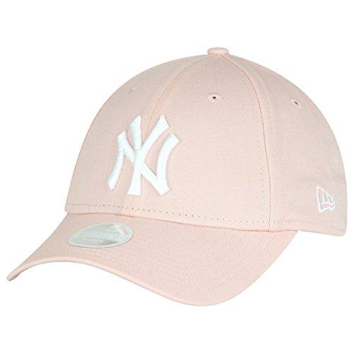 New Era Damen New York Yankees Essential 9 Forty Baseball-Cap, Rose, FR (Taille Fabricant : OSFA)