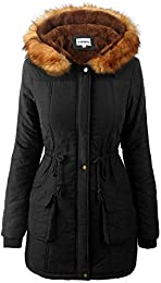 Amazon.co.uk: Faux Fur - Coats / Coats &amp Jackets: Clothing