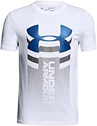 0ee113705376 Under Armour - Vertical Logo - T-shirt manches courtes - Garçon