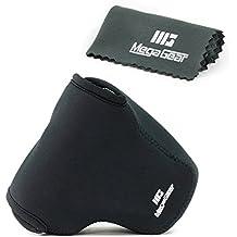 MegaGear ''Ultra Light'' Funda Bolsa Protector Neopreno Cámaras Para Sony Cyber-shot DSC-RX10, Sony Cyber-shot DSC-RX10 II (Negro)