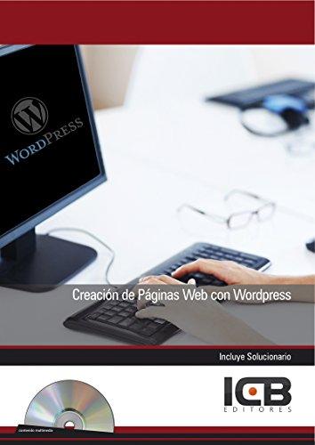 Creación de Páginas Web con Wordpress