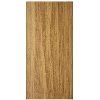 Flat Self Adhesive Wood Effect Aluminium Door Floor Edging Bar Strip