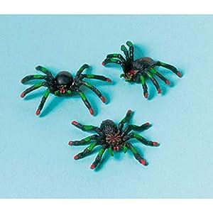Favores de partido arañas 12 piezas