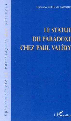 Le statut du paradoxe chez Paul Valéry