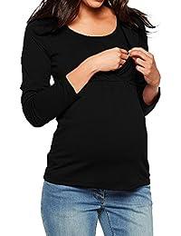 ALIKEEY Las Mujeres Ropa De Maternidad Enfermeria Blusa Tops De Manga Larga Ropa para Embarazada Foto Vestido Photography Maternidad Igualdad