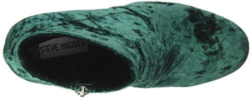 Steve Madden Ladies Garza Stivale Verde (velluto Verde)