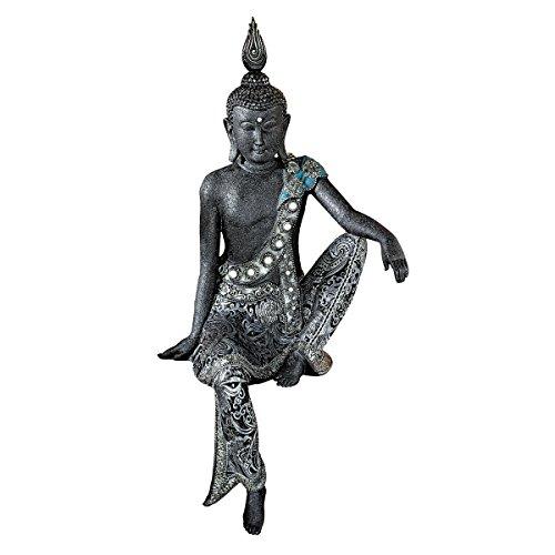 Design Toscano Bodhisattva entdeckt das Nirvana, Asiatische Figur