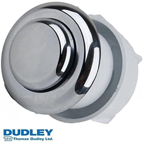 Thomas Dudley Royal 51mm redondo de botón redondo de descarga Vantage Individual Cromo 327735