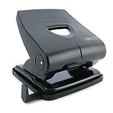 Rapesco PF827PB2 Hole Punch - 827-P, 30-sheet capacity. Black