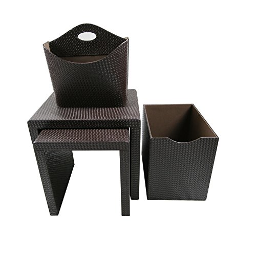 instant-mosaic-50103-dark-brown-leatherette-side-tables-and-storage-accessories-set-of-4