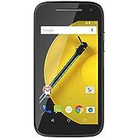 Motorola Moto E Smartphone Débloqué 4G (Ecran : 4,5 Pouces - 8 Go - Simple SIM - Android 6.0 Marshmallow) - Noir
