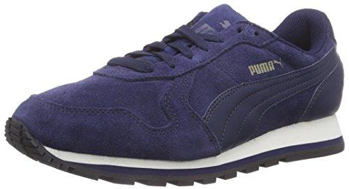 Puma ST Runner SD - zapatilla deportiva de piel Unisex adulto, Azul (Peacoat 04Peacoat 04), 42.5