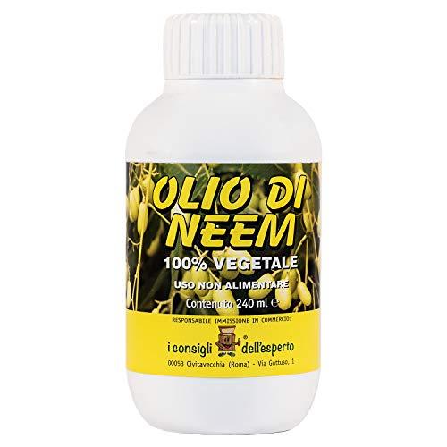i consigli dell'esperto olio di neem ad uso non alimentare, flacone 240 ml