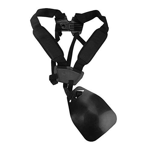 Zerodis Doppel Schultergurt für Rasenmäher Motorsense Freischneider Tragegurt Nylon Gürtel Professionell Einstellbar - Heavy Duty Weed Trimmer