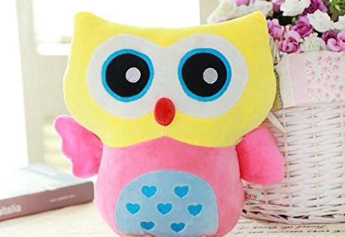 bunte Eule Kissen / Geburtstagsgeschenk / Kissen / Puppe für dekorative Schlafzimmer Wohnzimmer Warm haben R - Kissen Schlafzimmer-dekorative