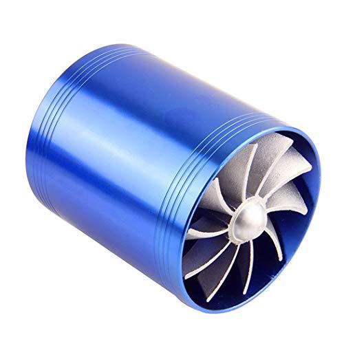 Fansport Lufteinlass Kraftstoffspar Ventilator Doppelkompressor Turbinen Auto Turbo Kompressor