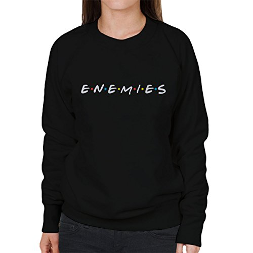 Friends Enemies Women's Sweatshirt Black