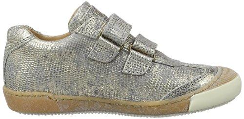 Bisgaard Unisex-Kinder Klettschuhe Low-Top Grau (410 Grey)