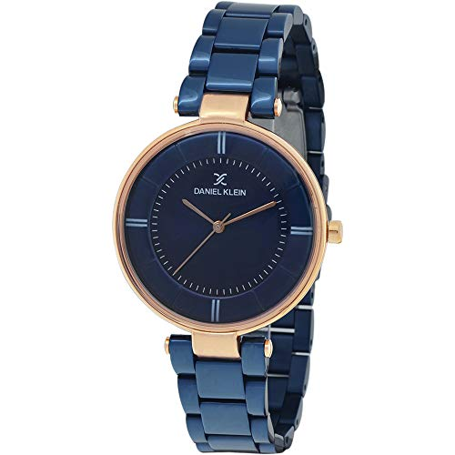 Daniel Klein Analog Blue Dial Women's Watch - DK11467-5