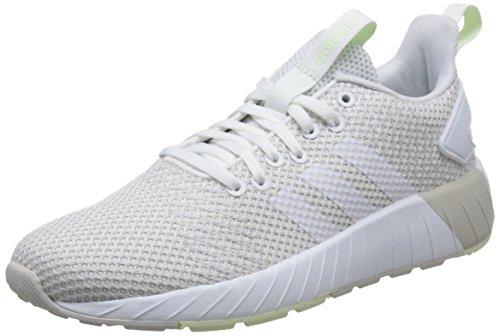 Grau Frauen Adidas Laufschuhe (adidas Damen Questar BYD Sneaker, Grau (Grey One/Footwear White/Aero Green), 41 1/3 EU)