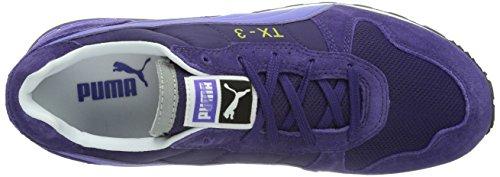 PUMA - TX 3 Wns - Tx-3 WnS, Chaussures de sport femme Multicolore - violet/bleu (Parachute Purple/Blue Iris 10)