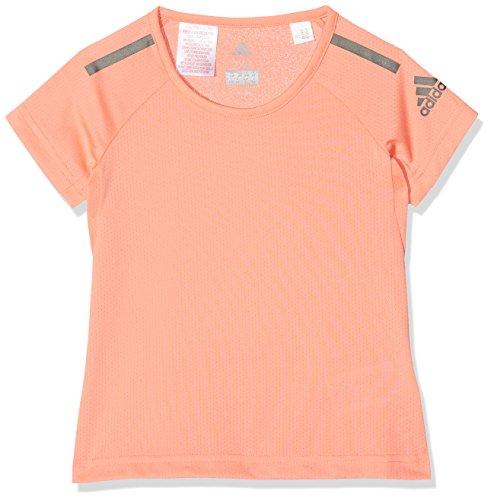 adidas Mädchen Training Cool T-Shirt, Chalk Coral, 152