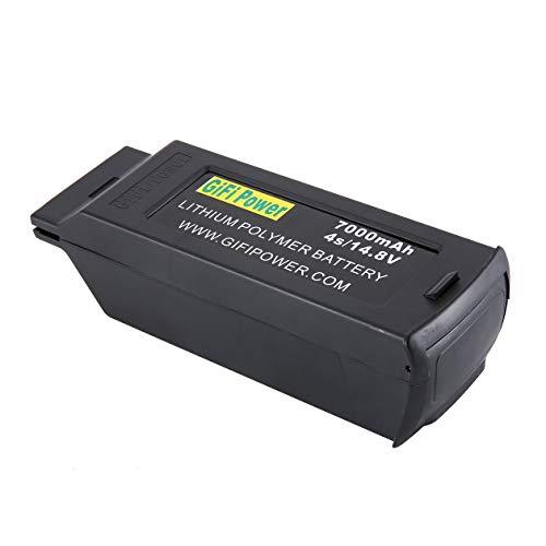 Hongigi 7000mah Batterie De Grande Capacité 148v 4s Batterie De Drone De Remplacement Pour Lipo De Remplacement Pour Yuneec Typhoon H H480 Noir