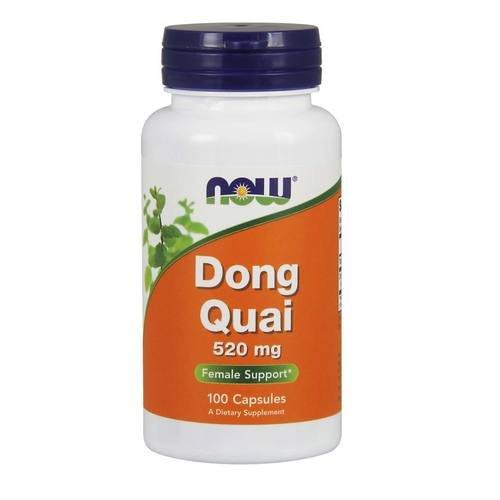 NOW NF Dong Quai 100 Kapseln, 520 mg