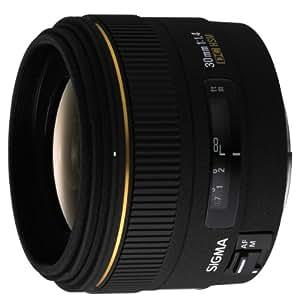 Sigma 30 mm F1,4 EX DC HSM-Objektiv (62 mm Filtergewinde) für Canon Objektivbajonett